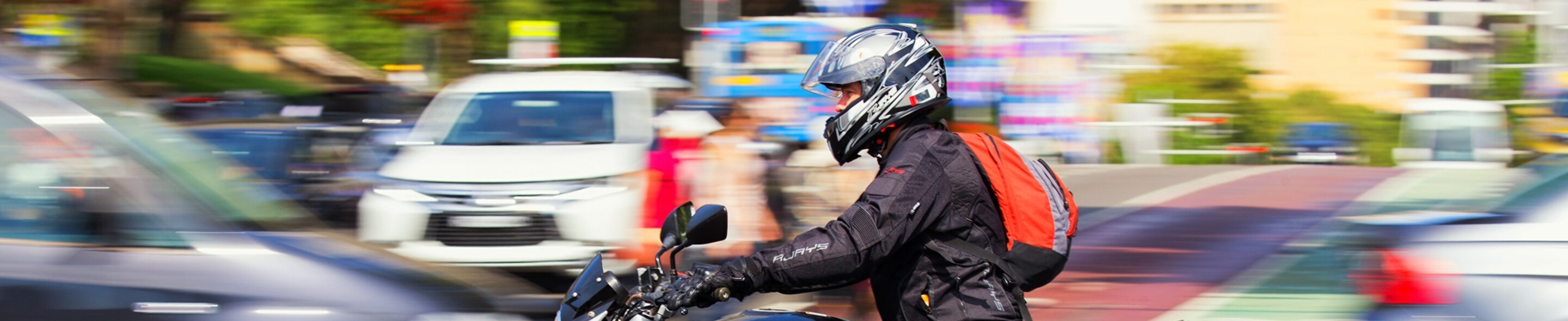 Motorcycle rider